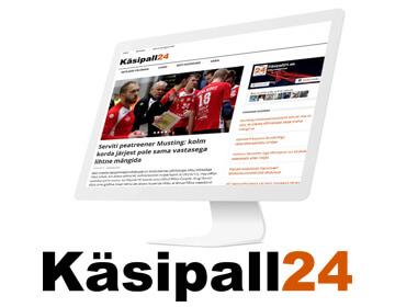 """Käsipall24.ee on uudisteportaal, mille eesmärk on pakkuda käsipallist huvitatud inimestele laiapõhjalist lugemist Eesti käsipallis toimuva kohta ning eestlaste tegemistest välismaal. Lisaks tippudele kajastame ka harrastajate ning noorte tegemisi ning vaatame ka """"kaadri taha"""", pakkudes lugusid ja intervjuusid käsipallitegelastega ajaloost ja tänapäevast."""