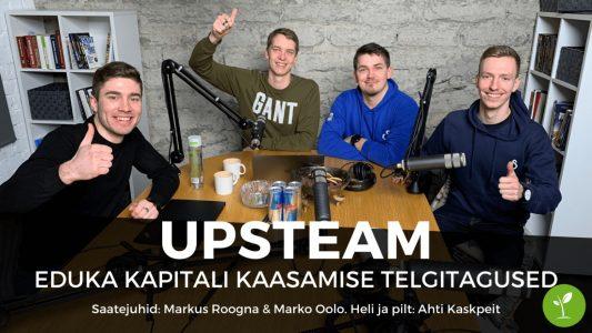 Investeerimisklubi | UpSteam – eduka kapitali kaasamise telgitagused