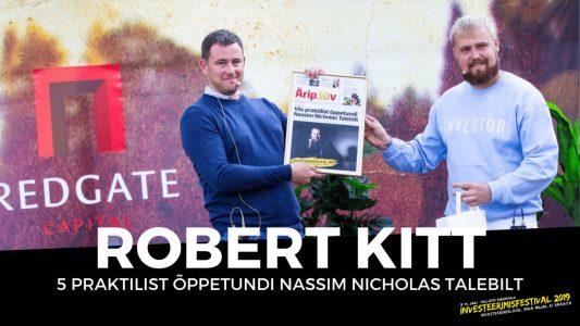 Investeerimisklubi | 5 praktilist õppetundi Nassim Nicholas Talebilt – Robert Kitt
