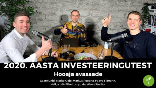 Investeerimisklubi | Vestleme 2020. aasta investeeringutest