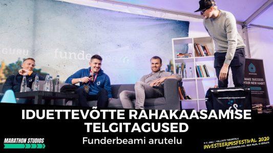 Investeerimisklubi | Iduettevõtte rahakaasamise telgitagused – Funderbeami arutelu