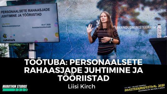 Investeerimisklubi |Töötuba: Personaalsete rahaasjade juhtimine ja tööriistad – Liisi Kirch