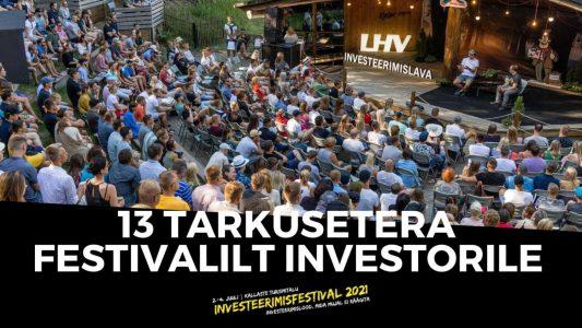 Investeerimisklubi | InvesteerimisFestival 2021